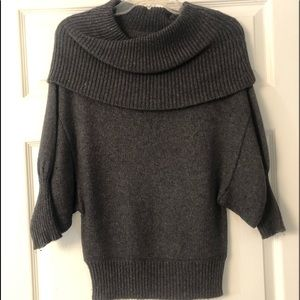 Express 3/4 sleeve sweater/ Cowl Neck